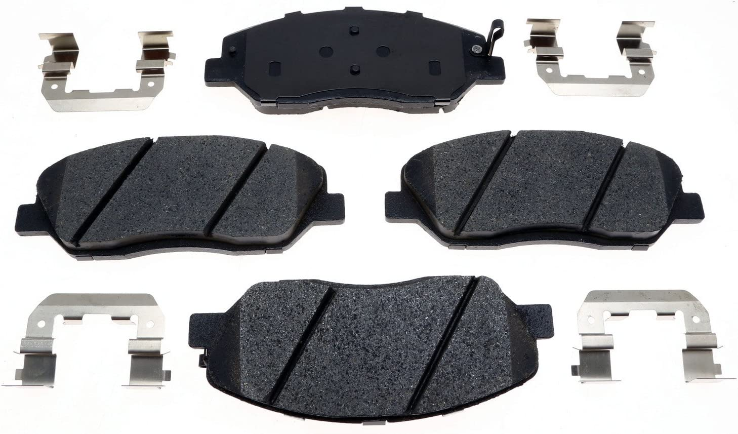 ACDelco 17D1202CH Professional Ceramic Front Disc Brake Pad Set