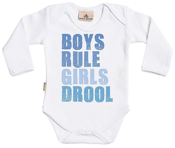 Amazon.com: Boy s regla, Girl s Babas bebé Grow diseño de ...