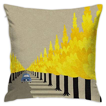 Amazon.com: AKACU Tree and Shade Square Throw Pillow Covers ...