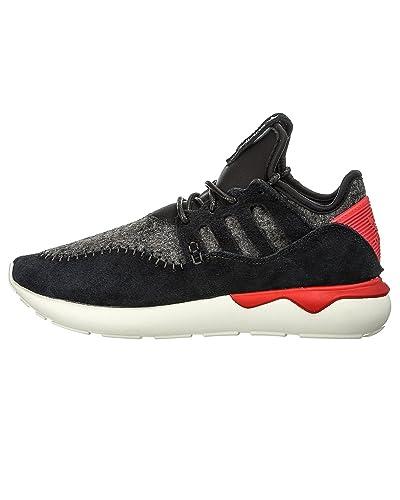 the latest 4e527 42dd9 adidas Tubular Moc Runner Mens Running Shoes Black B24693 ...
