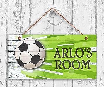 Amazon.com: Señal de fútbol, Deportes Habitación de los ...