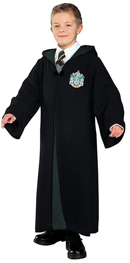 Image Unavailable. Image not available for. Color  Harry Potter Deluxe  Slytherin Robe ... 11a4d179b