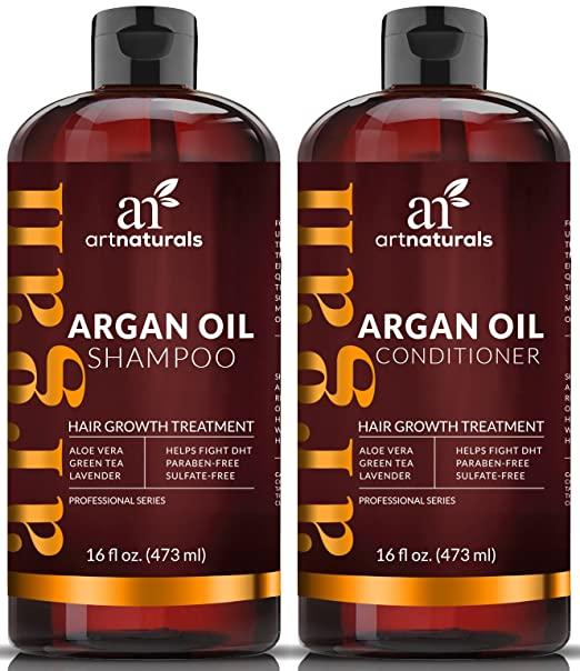 ArtNaturals Moroccan Argan Oil Hair Loss Shampoo & Conditioner Set Review