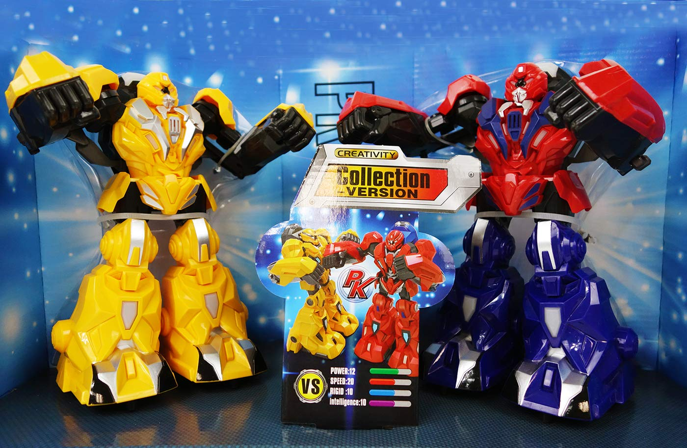 NBD Corp Real Hero- Infrared Fighting Robots A Fun Toy For Boys And Girls This Is A Very Exciting Toy For Kids This Really Rad Robot Is A Super Fun Boxing Robot And The Hero You've Been Looking For by NBD Corp (Image #3)