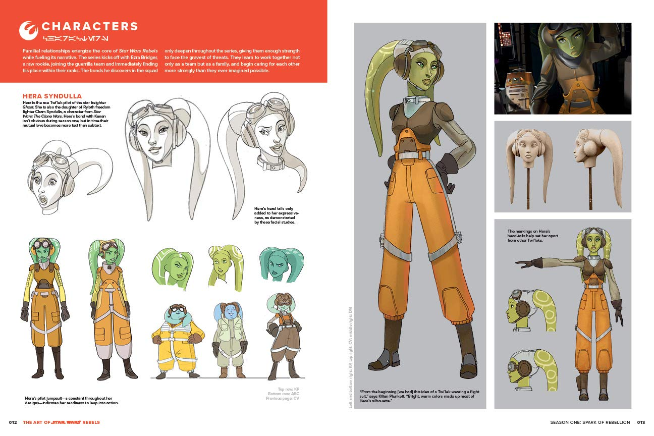 The Art Of Star Wars Rebels Wallace Dan 9781506710914 Amazon Com Books