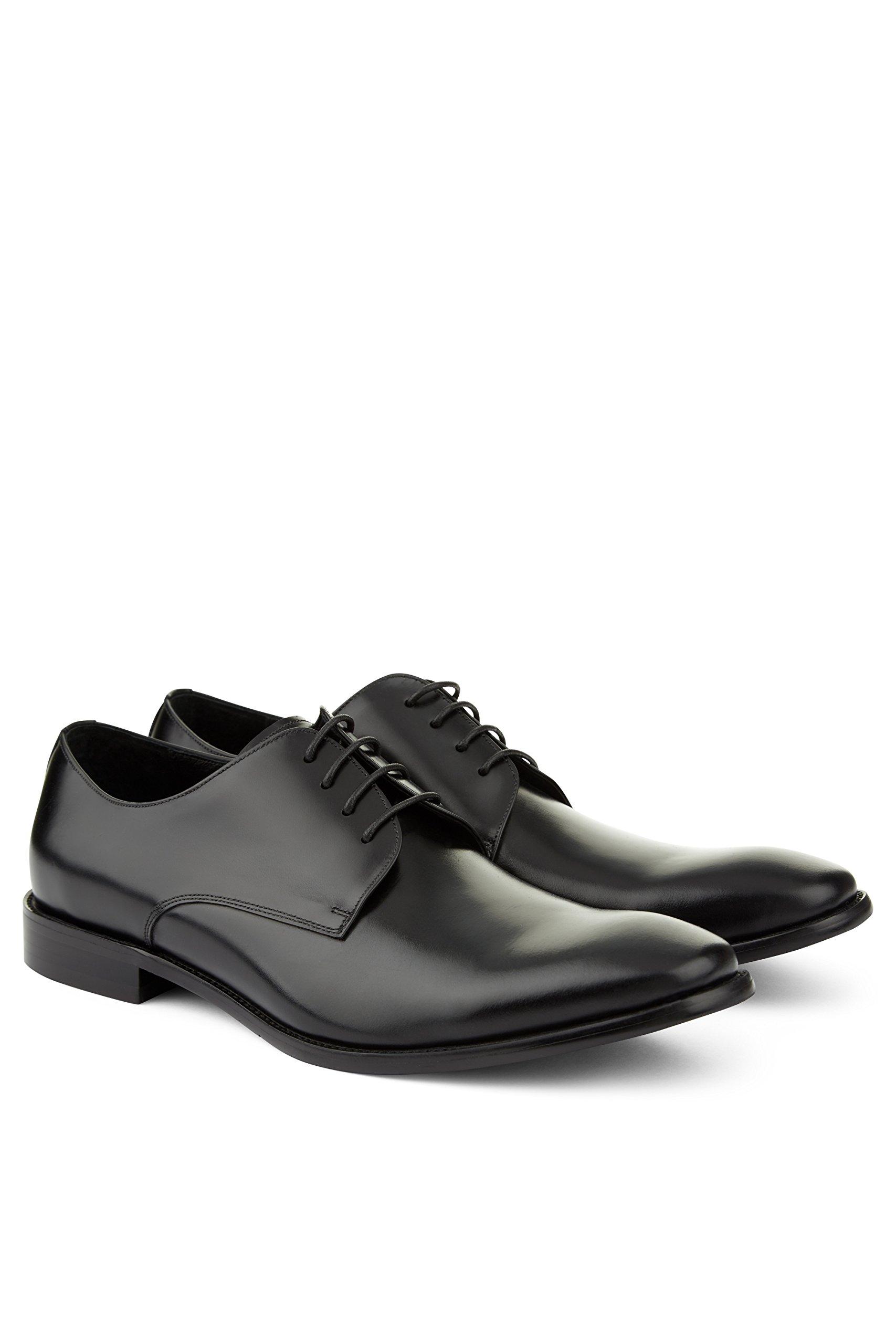John White Men's Moore Black Derby Shoes 9.5 by John White