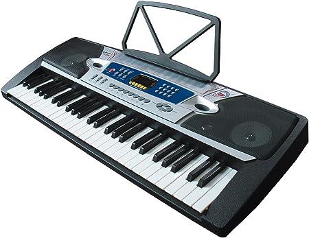 Clifton MK2063 - Teclado 54 teclas, 100 voces, 100 estilos ...
