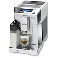 De'Longhi Eletta Cappuccino Top Automatic Coffee Machine, White, DLECAM45.760W