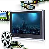 DVD-Player für Kopfstützen, 25,4cm HD-Digital LCD-Display mit Fernbedienung