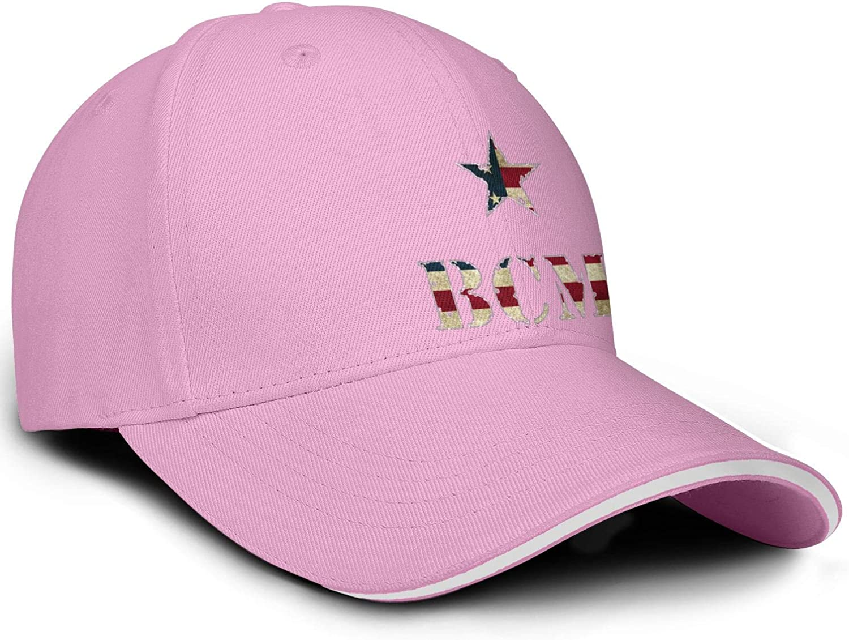 Hat for Mens Womens Sun Hat Adjustable Outdoor Trucker Hat Mersh Cap Heart Wolf Vintage-American-BCM