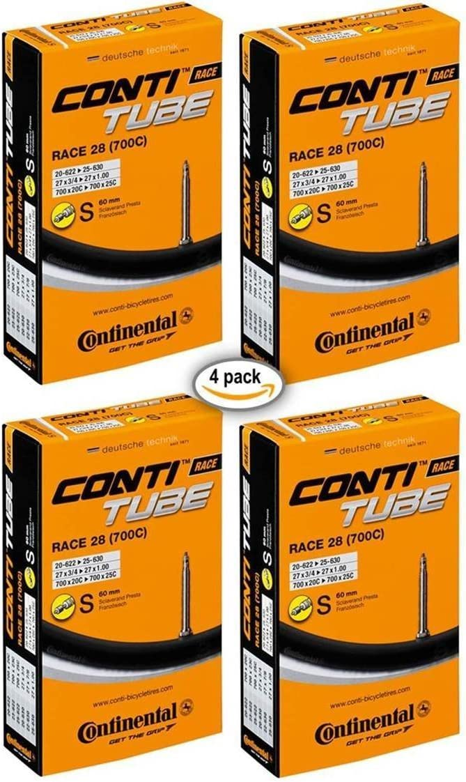 "700x20-700x25 Presta Valve Continental RACE Bike Inner Tubes 28/"" Wheels"
