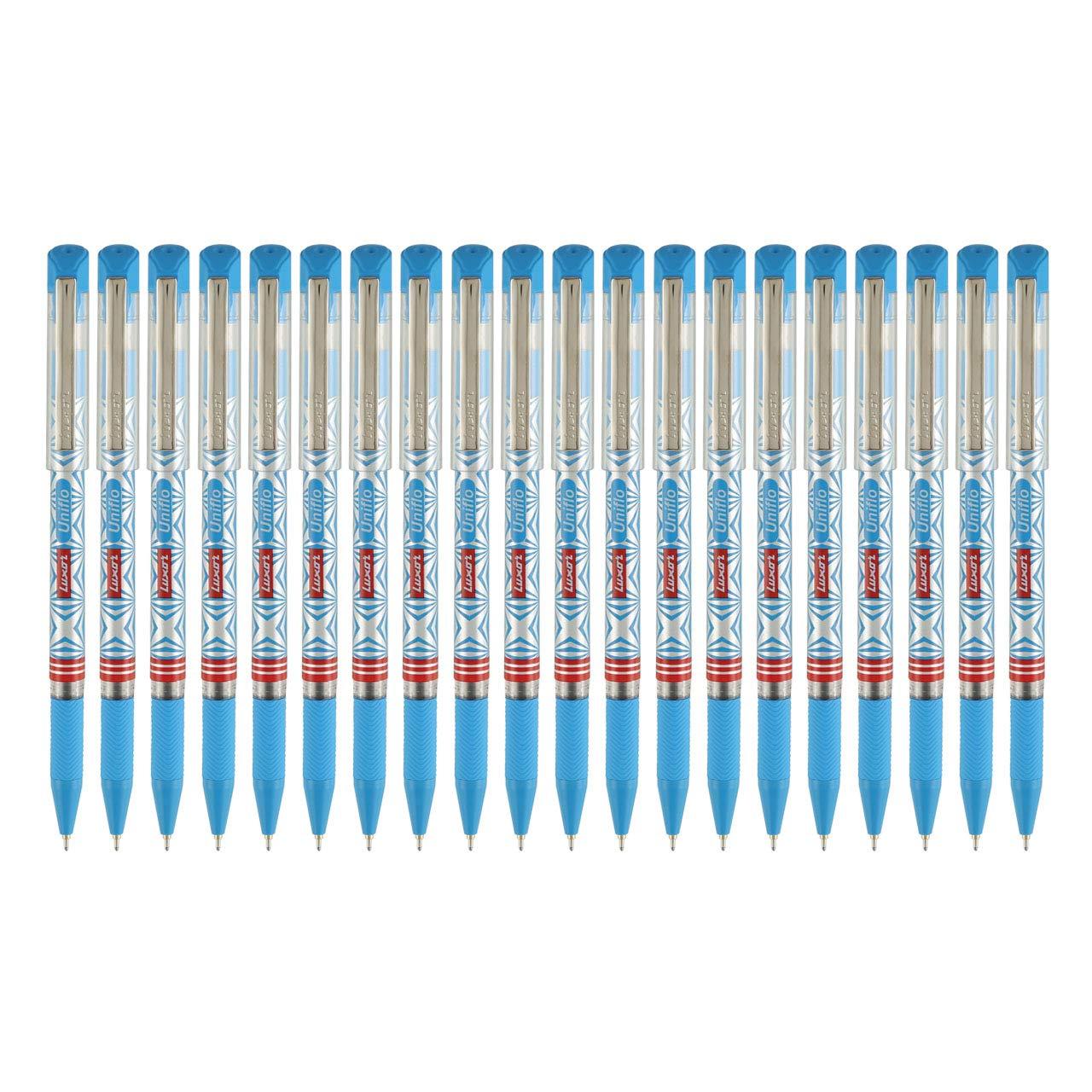 Luxor UNIFLO Ball Pen Blue (20's Box)