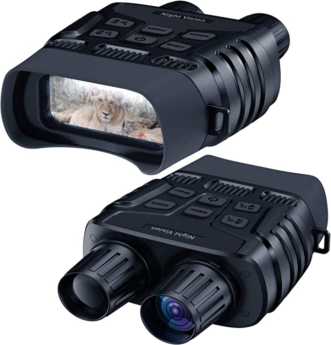 """Night Vision Goggles, 984 FT Digital Infrared Night Vision Binoculars Scope for Adults HD Image 960P Video 2.31"""" TFT LCD Screen for Hunting Spy and Surveillance with 32 GB Micro SD Card 