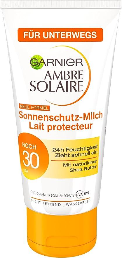 Garnier Ambre Solaire crema solar mini, SPF 30, 6-pack (6 x 50 ml): Amazon.es: Belleza