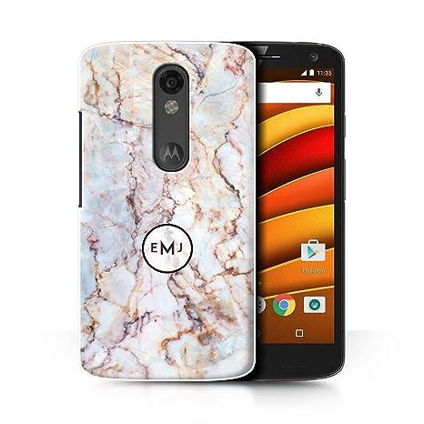 Personalizado Mármol Personalizado Funda para el Motorola ...