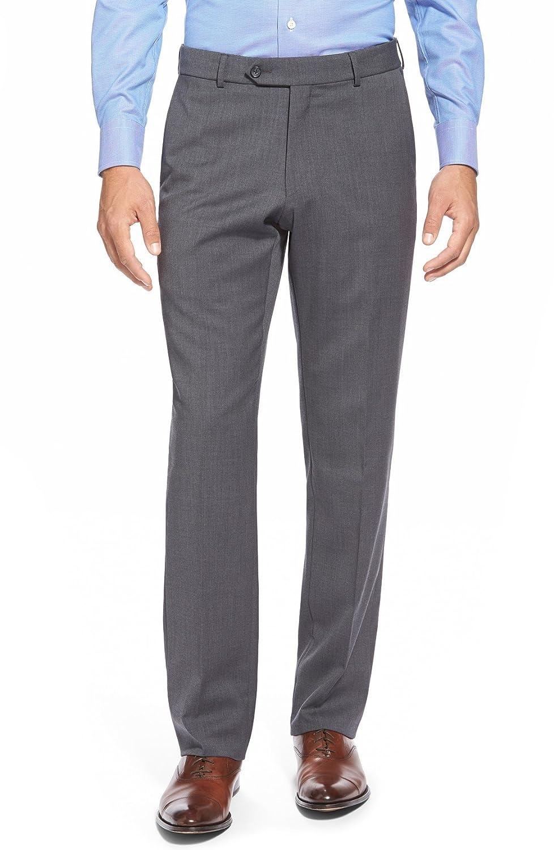 [バリーン] メンズ カジュアルパンツ Ballin Flat Front Solid Wool Trousers [並行輸入品] B07C3NC4M1 Regular-38