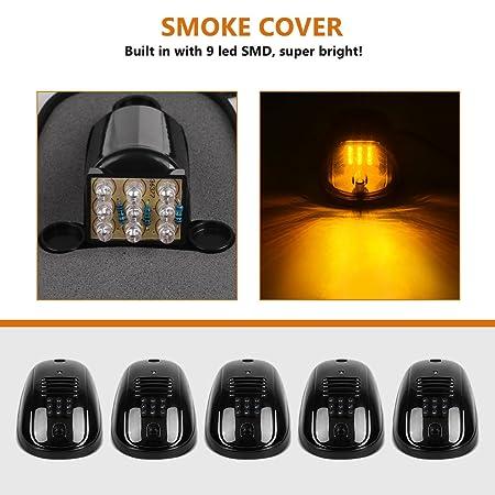 Amazon.com: 5 piezas LED Cabina de luces de techo para 2003 ...