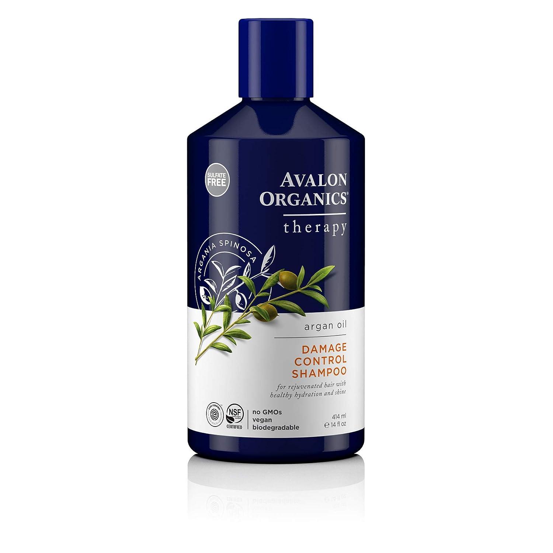 Avalon Organics Argan Oil Damage Control Shampoo, 14 oz.