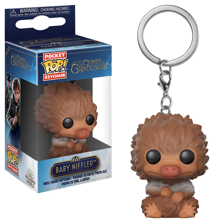 Funko Pop Keychain: Fantastic Beasts 2 Crimes of Grindelwald - Baby Niffler (Tan)