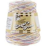 Lily Sugar 'N Cream Yarn, 14 Ounce Cone, Kitchen Breeze, Single Ball