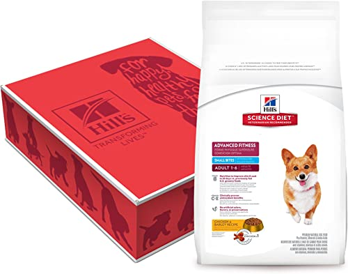 Hill S Science Diet Adult Advanced Fitness Small Bites Chicken Barley Recipe Dry Dog Food, 35 Lb Bag