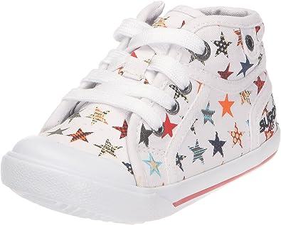 Buggy Virus-Blanc - Zapatillas de Tela para niños, Color Blanco, Talla 30: Amazon.es: Zapatos y complementos