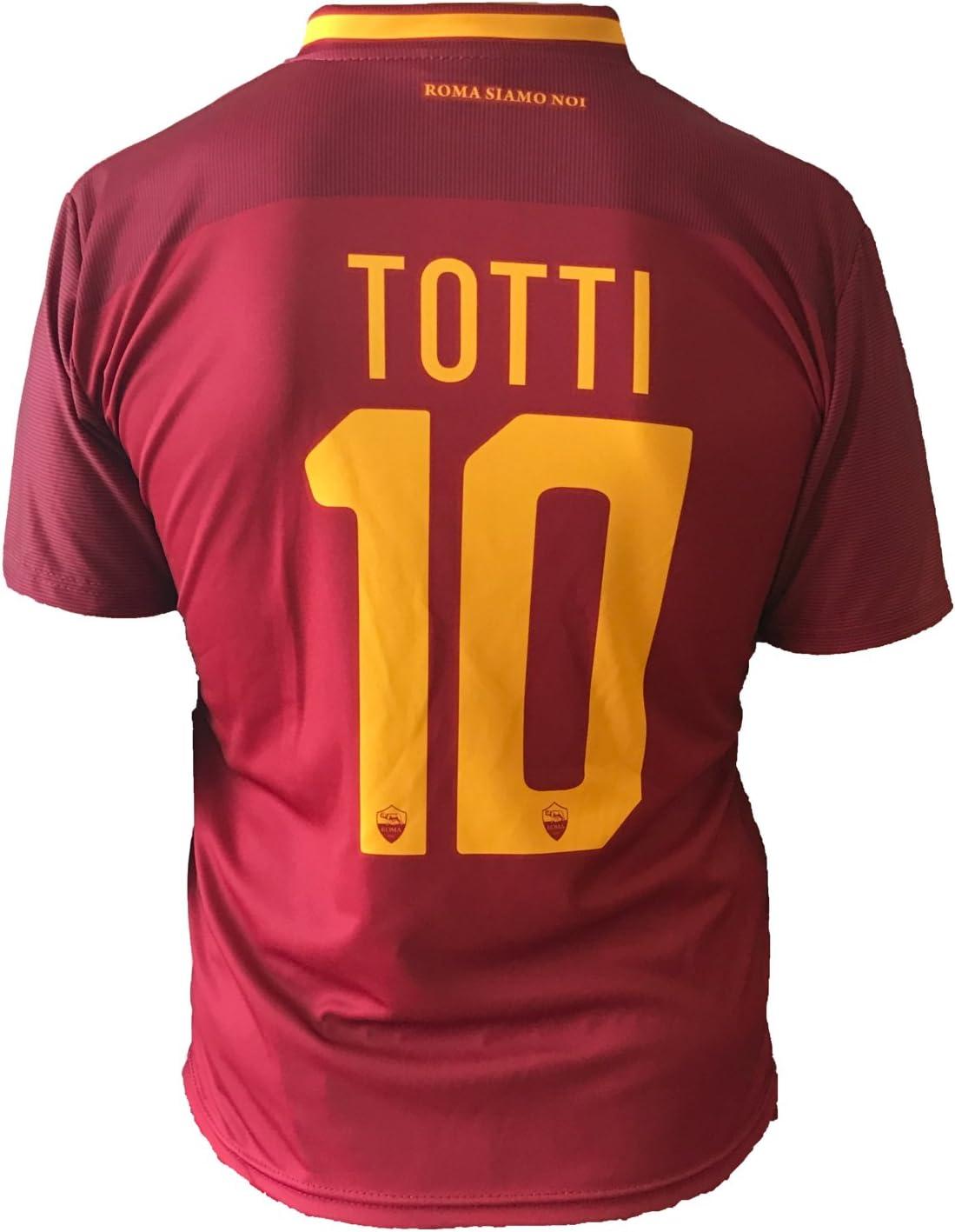 Camiseta de fútbol para niños o adolescentes, Roma, Francesco ...