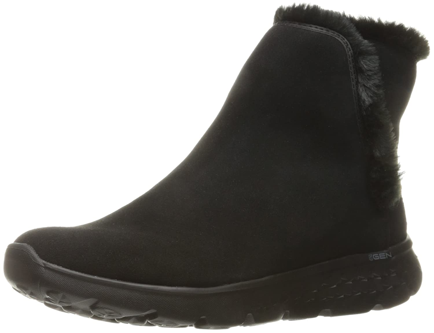 Skechers Damen on-The-Go 400 Blaze Kurzschaft Stiefel  38 EU|Schwarz (Bbk)