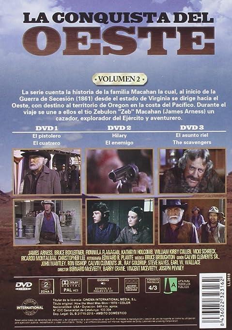 Pack La Conquista del Oeste Vol. 1 y 2 How the West Was Won DVD: Amazon.es: James Arness, Bruce Boxleitner, Fionnula Flanagan, Ricardo Montalban, ...
