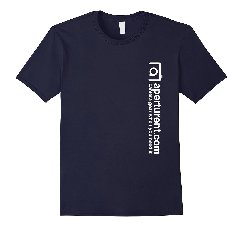 Aperturentcom White Logo T-Shirt-RT