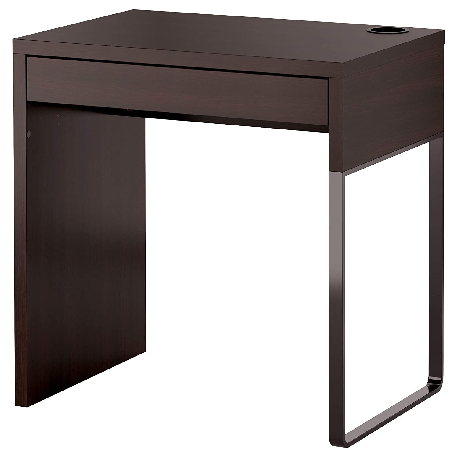 IKEA.. 202.447.47 Micke Desk, Black-Brown