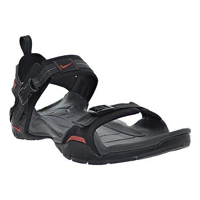 Nike Straprunner VII Men's Sandals Black/Terra Cotta/Anthracite 315313-081  (13