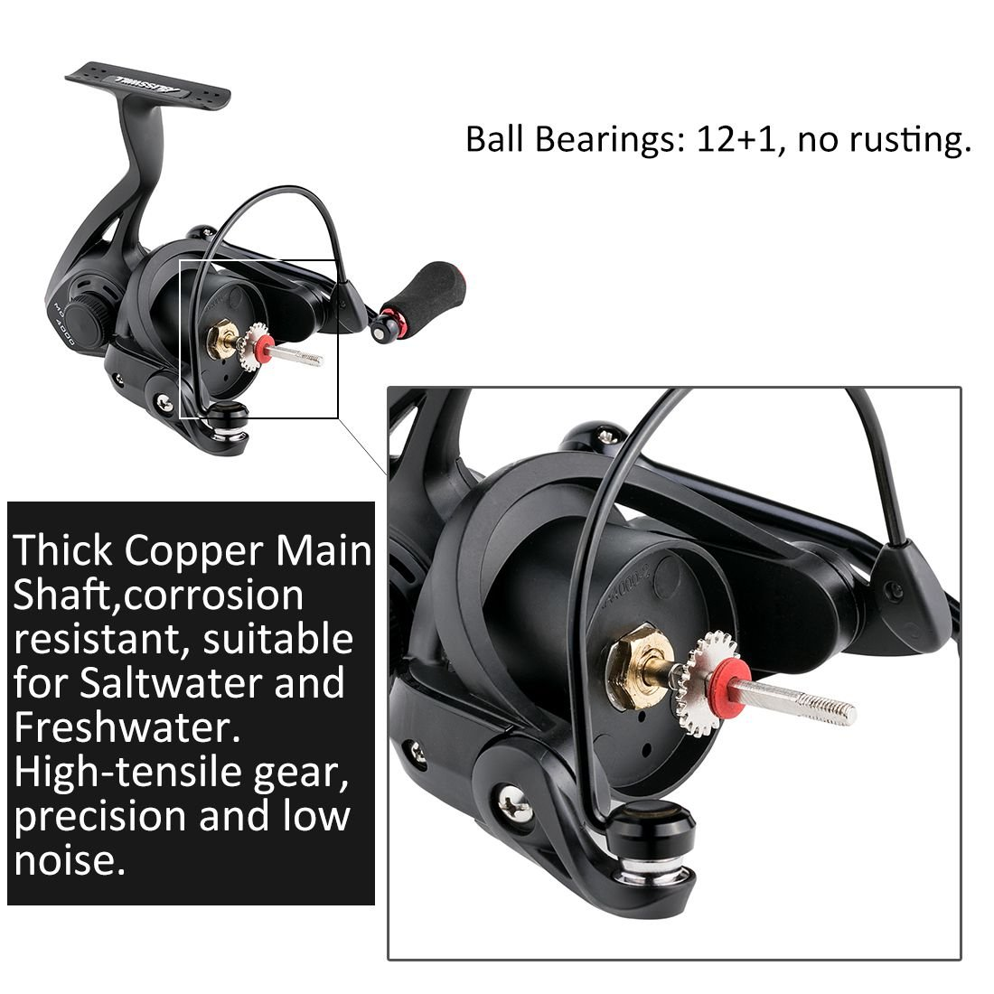 BLISSWILL 4000 Spinning Reel