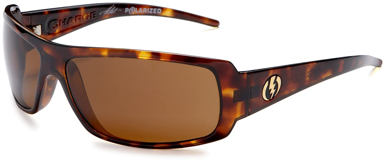 8282b38597 Amazon.com  Electric Visual Charge Gloss Black Polarized Sunglasses   Electric  Clothing