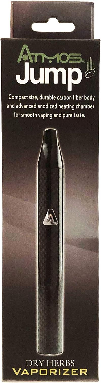 Atmos Jump - Kit de vaporizador herbal, color negro carbón