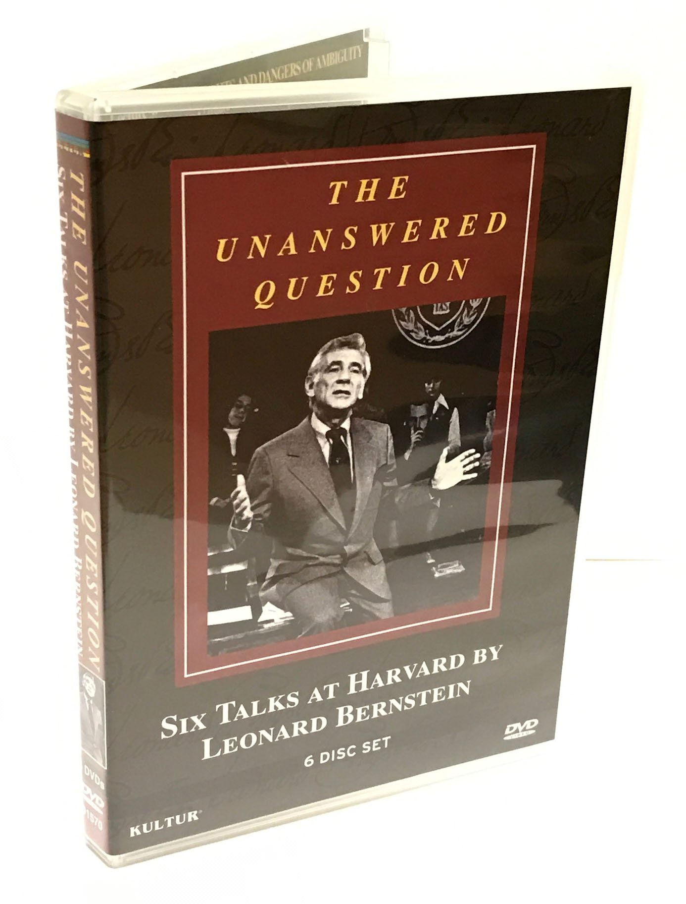 The Unanswered Question - Six Talks at Harvard by Leonard Bernstein by Kulter
