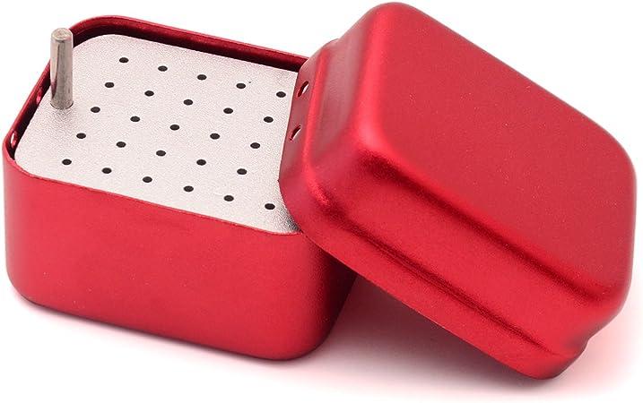 Etelux 30 Agujeros Autoclave Esterilizador Caja de Fresas Dentales y Instrumento Endodoncias, Equipo Dental: Amazon.es: Hogar