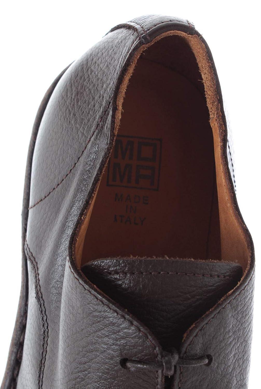 Moma Vitello Uomo 14804 Marrone Classiche Made Y1 Scarpe Pelle Tmoro yNw80OPvmn