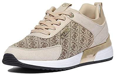 finest selection 57ef4 5da50 Guess, Marlyn Natural FL5MR2 FAL12, Women's Beige Sneakers ...
