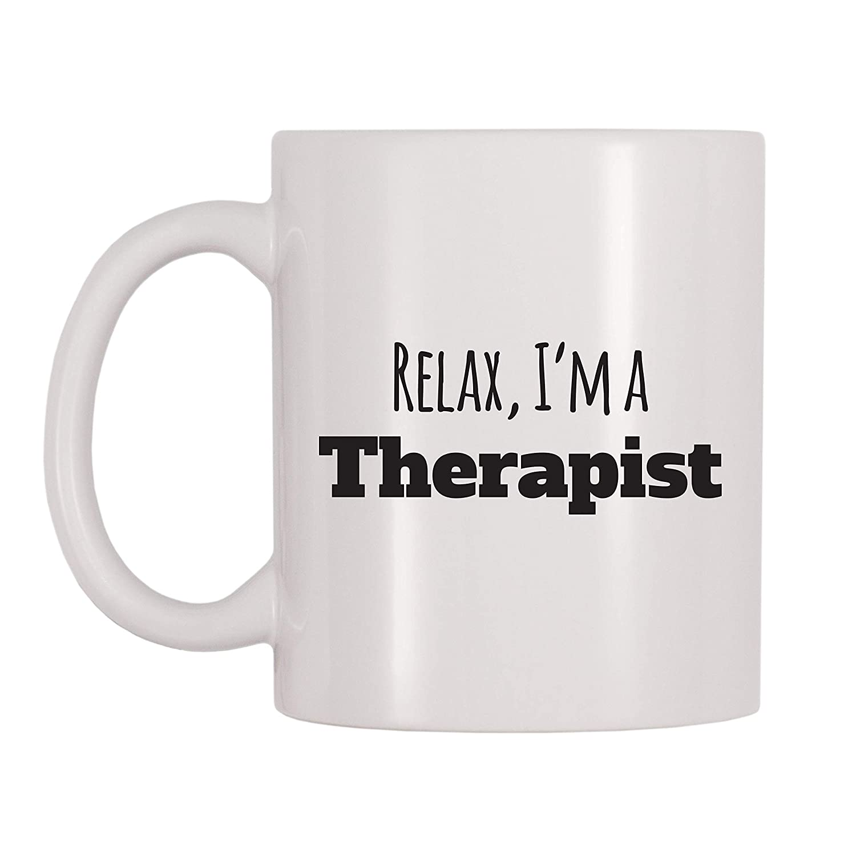 11 oz 4 All Times Relax Im A Therapist Coffee Mug