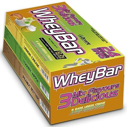 Beverly Nutrition 3 Mix Delicious Whey Bar Barrita Proteica - 24 Barras