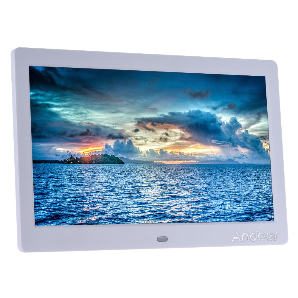Amazon digital picture frames electronics andoer 10 hd wide screen lcd digital photo picture frame high resolution 1024600 jeuxipadfo Image collections