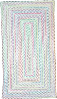 product image for Capel Baby's Breath Lily Kids Rug Rug Size: Concentric 8' x 11'