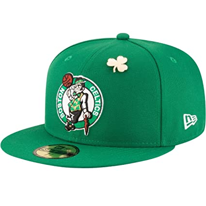 68f66e77ffc New Era Boston Celtics 2018 NBA Draft Cap 59Fifty Fitted Hat - Green (7)
