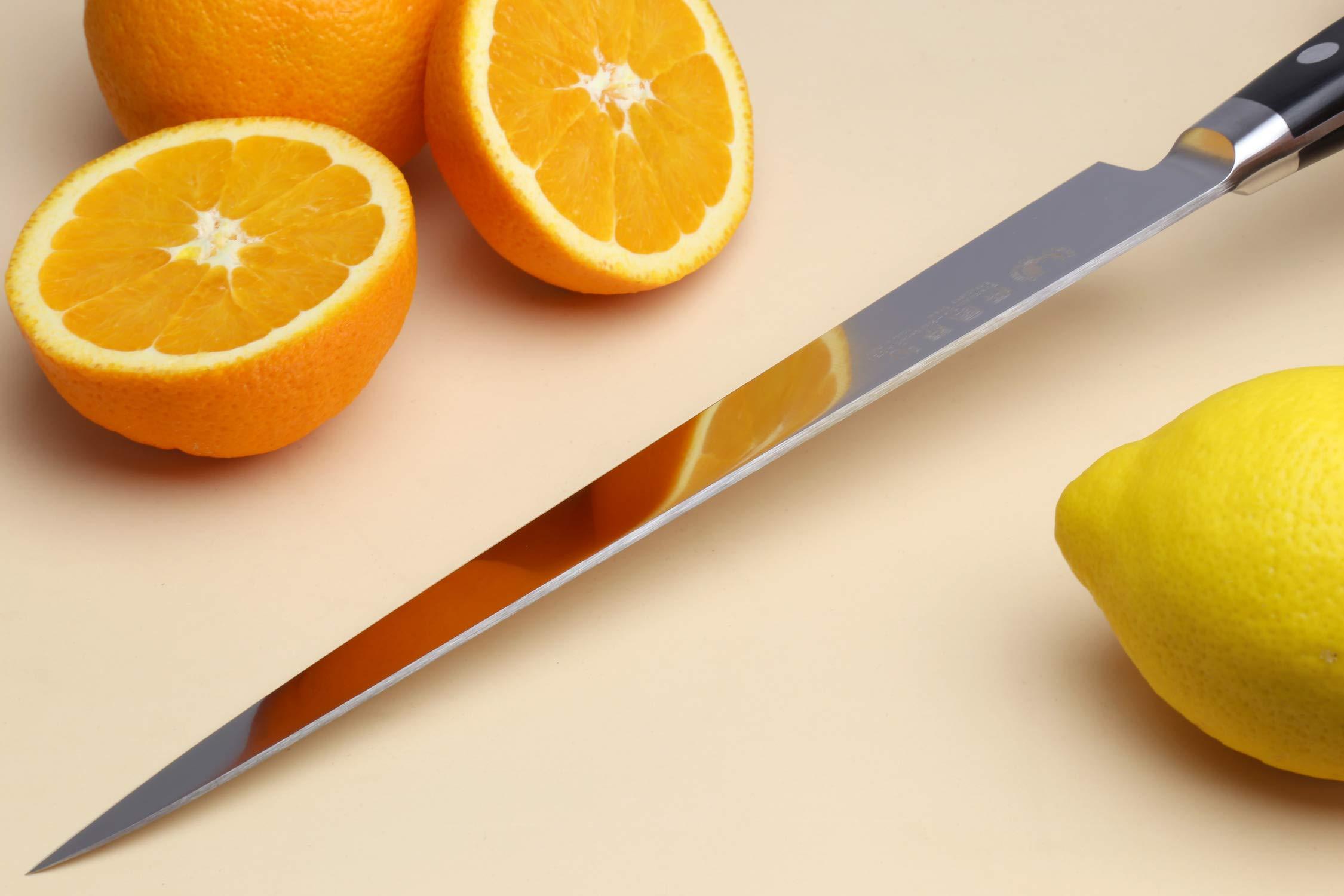 Yoshihiro 240mm Inox Sujihiki Japanese Chef Knife, 9.5-Inch by Yoshihiro (Image #7)
