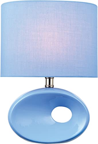 Lite Source LS-22315L/BLU Hennessy Table Lamp