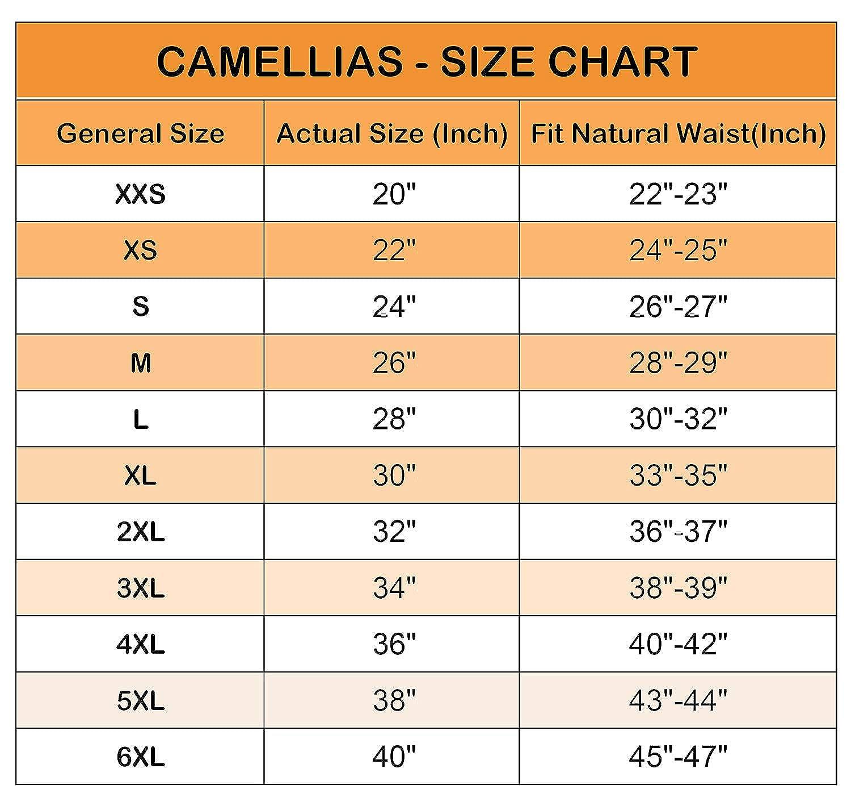 Camellias women s 26 steel boned heavy duty waist trainer corset