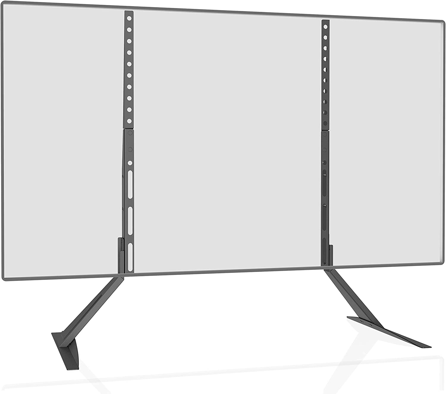 "VESA up to 800 x 400mm 100 Lb Capacity TVS001 Universal TV Stand Table Top for Most 27/""-65/"" LCD Flat Screen TV"