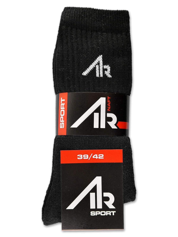 47-50, 10 Paar | Schwarz 10 Paar i1R Damen /& Herren Socken Sportsocken Tennissocken Baumwolle Schwarz oder Wei/ß