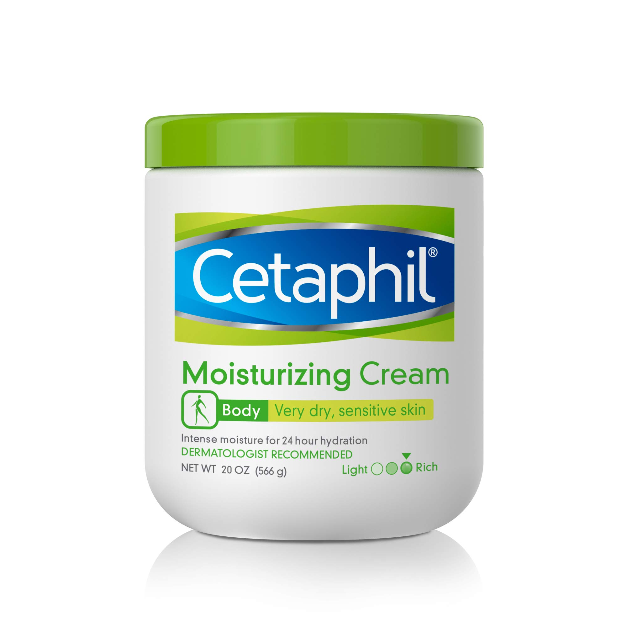 CETAPHIL Moisturizing Cream | 20 oz | Moisturizer For Dry To Very Dry, Sensitive Skin | Completely Restores Skin Barrier In 1 Week | Fragrance Free | Non-Greasy | Dermatologist Recommended Brand